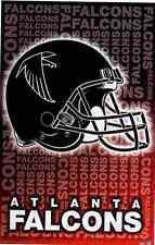 2003 Atlanta Falcons Helmet Logo Original Starline Poster OOP