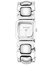 Anne Klein Womens Silver-Tone Bracelet Watch 26mm AK/2651SVSV