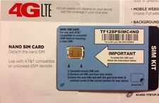 TracFone Bring Your Own Phone (BYOP) SIM Nano Size Card For iPhone 5S,6,6+,6S,7