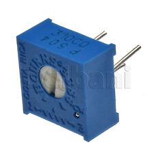 5pcs @$3 3386P-1-504LF Top-Adjust Bourns Trimpot Cermet Trimmer POT 500K Ohm