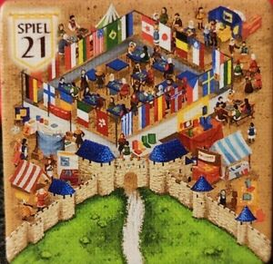 Carcassonne Promoplättchen Spiel 2021