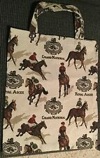 Equestrian Horses Tapestry Tote Shopping Bag Grand National