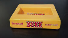 Castlemaine XXXX Australia Draft Lager Ceramic Ashtray: Excellent Condition