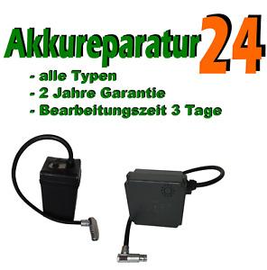 Akkureparatur Zellentausch für JuCad JUTEC Justar Akku, alle Typen und Größen