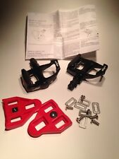Wellgo Road Bike Pedals Look ARC Compatible with Cleats never used