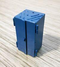 Top Rare W GERMANY 1960s TOOLBOX Pencil SHARPENER Plastic Blue