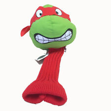 New - Ninja Turtles Raphael Golf Club Driver Novelty Headcover