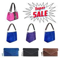 Leather Ladies Suede Envelope Clutch Evening Shoulder Chain Bag Women Handbag