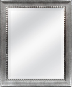MCS 22x28 Inch Slope Mirror, 27.5x33.5 Inch Overall Size, Silver 20564