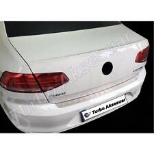 VW Passat B8 S.Steel Chrome Rear Bumper Protector Scratch Guard