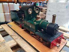 Live steam 5 inch gauge 0-4-0 'Scamp' locomotive and tender...narrow gauge