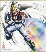 DRAGON BALL Z JAPAN SHIKISHI COLOR PAPER ART 2 SS GOGETA X1 AKIRA TORIYAMA