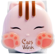 NEW TONY MOLY CAT'S WINK CLEAR PACT #2 CLEAR BEIGE MAKEUP COMPACT POWDER COVER