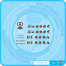 De Rosa - Decals Bicycle Transfers - Stickers - Set 3