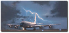 Cold Warrior (EC-135C) by Darby Perrin - EC-135C Looking Glass - Aviation Art