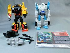 TRANSFORMERS BOTCON DAWN OF PREDACUS UNIT 3 & TIGATRON SET COMPLETE