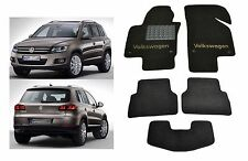 Volkswagen Tiguan 2006-2015 Fully Tailored Classic Carpeted Car Floor Mats VW