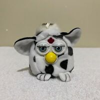 """Furby Cow 2001 Tiger Hasbro Vintage 3"""" Squeezable Small Toy"""