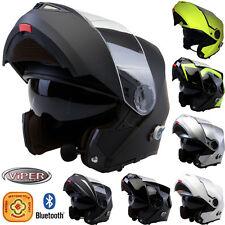 Grade A Viper RS-V151 Bluetooth 2.0 Flip UP DVS Motorbike Motorcycle Helmet ACU