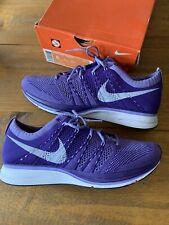 Nike Flyknit Trainer + UK Size 7 Purple/Violet/White - 532984 551 - 2012