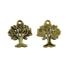 Bead Charms Accessories wholesale PJ2278 10pc Retro Bronze butterfly pendant