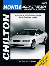 Chilton Workshop Manual Honda Accord Prelude 1996-2000 New Service Repair