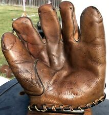 RARE EDD ROUSH Vintage 1920s Baseball Glove HALL OF FAME CINCINNATI REDS