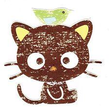 "3.5""  HELLO KITTY  CHOCOCAT WALL BORDER PEEL & STICK CUT OUT"