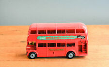 #Antique Toy# United Kingdom Mettoy London Transport Double decker Bus Woodbines