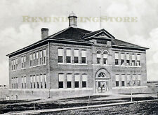 "Pawnee City NE ""High School"" © 1900 Reprint Vintage Photography"