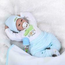 NPK Reborn Baby Doll Realistic Baby Dolls 22'' Vinyl Silicone Newborn Cute Boy~