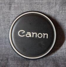 Canon steel lens cap 60mm