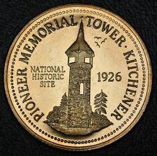1987 KITCHENER-WATERLOO Ontario Canada $2.00 TOKEN - Pioneer Memorial Tower