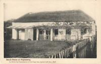 VINTAGE DUTCH HOUSE at PAPENDORP CAPITULATION of the CAPE POSTCARD