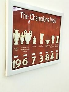 liverpool fc champions wall 3d Frame Poster Wall Art Gift