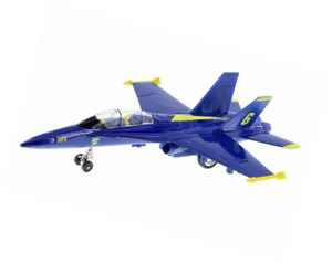 """9.5"""" X-Planes US Navy F-18 Hornet Blue Angel Jet Diecast Toy Authentic Licensed!"""