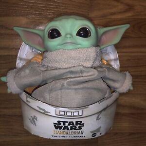 Mandalorian The Child Star Wars Plush Toy 11 inch Baby Yoda-like Figure NEW
