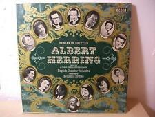 SET 274-6 BRITTEN Albert Herring BRITTEN ENGLISH CHAMBER DECCA STEREO 3LP BOX