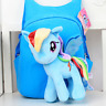 3D Cartoon Pony backpack for girls Kids School bag Child Plush Backpacks Baby