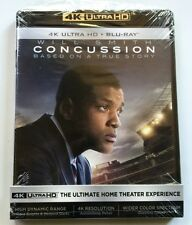 CONCUSSION 4K ULTRA HD BLU RAY 2 DISC SET FREE WORLD WIDE SHIPPING BUY IT NOW