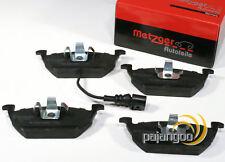 Seat Toledo 3 III - Metzger Pastillas Freno de Cable Advertencia para Delantero