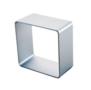 Square Shaped Cookie Cutter Metal Biscuit Pastry Baking Cake Fondant Jelly Mould