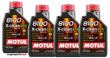 Aceite Motor Motul 8100 X-Clean EFE 5W30 ACEA C2 C3, 4 Litros BMW Mercedes Opel