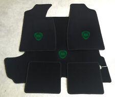 Autoteppich Fußmatten Kofferraum Set für Lancia Fulvia Coupe dkl.grün 5tlg. Neu