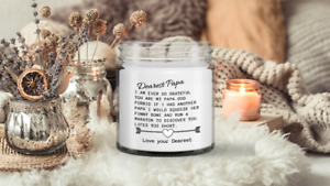Papa Candle, Funny Candle, Candle, Soy wax Candle, Hand Poured Candle , Vanilla-