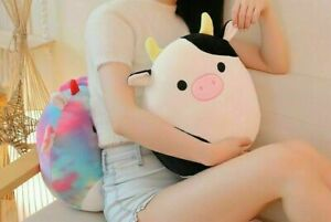 Squishmallows 7.5-Inch(20cm) Plush Dolls Pillow Cow Stuffed Toy Kids Best Gifts
