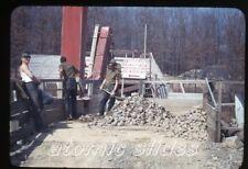 1940s  kodachrome Photo slide Soil Conservation Service Lime Quarry Sligo PA 2
