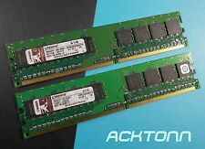 1GB Lot Kingston 2x 512MB KVR533D2N4K2/1G RAM Memory Modules ACKTONN 713-8