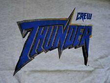 WCW Thunder CREW t-shirt (XL) * new, never worn