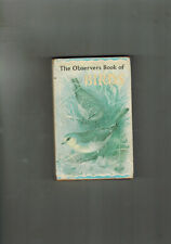 THE OBSERVER'S BOOK OF BIRDS - 1965 in dustwrapper